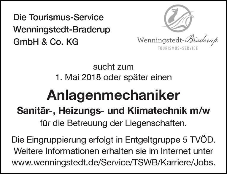 Anlagenmechaniker für Sanitär-, Heizungs- und Klimatechnik m/w
