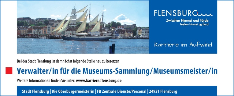 Verwalter/in für die Museums-Sammlung/Museumsmeister/in