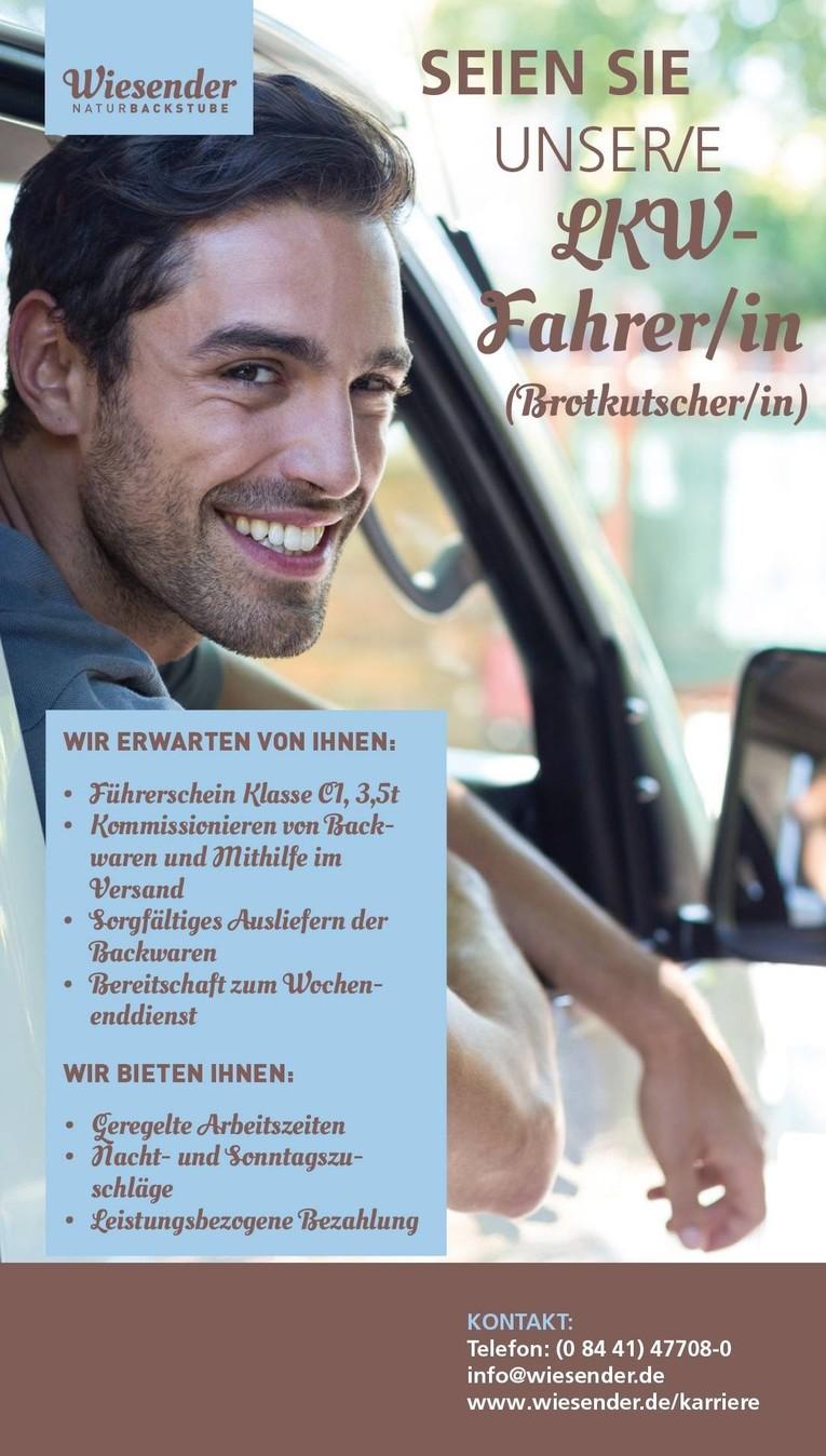 Lieferfahrer (m/w)