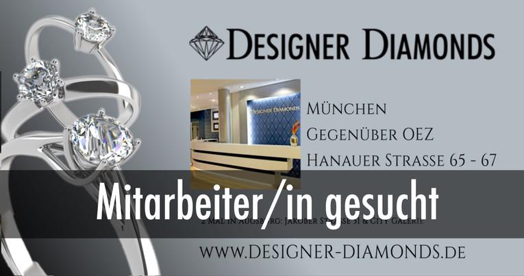 Verkäufer/in für Trauringe, Verlobungsringe & Diamanten gesucht (München - am OEZ)