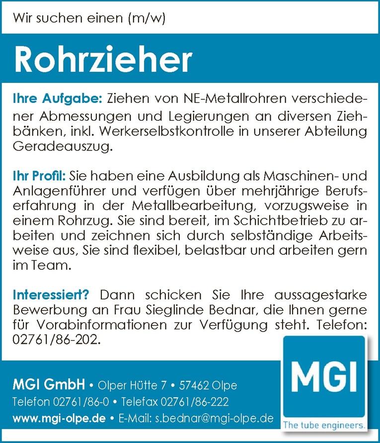 Rohrzieher  (m/w)