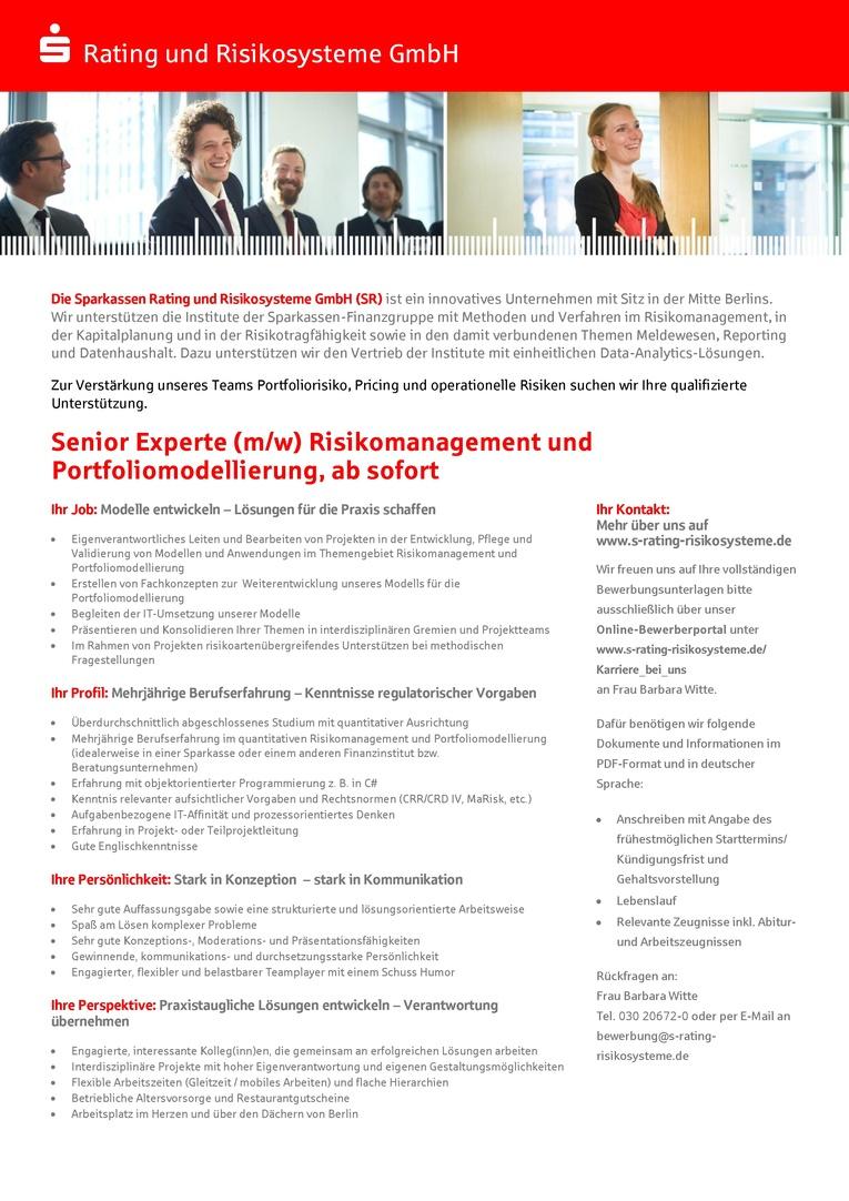 Ausgezeichnet International Risikomanagement Lebenslauf Galerie ...