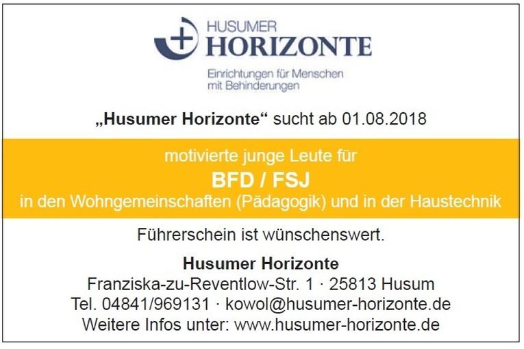 BFD + FSJ Husumer Horizonte
