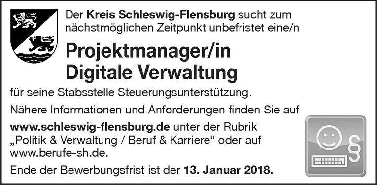 Projektmanager/in Digitale Verwaltung