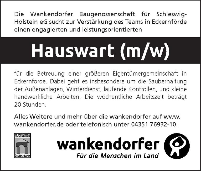 Hauswart (m/w)