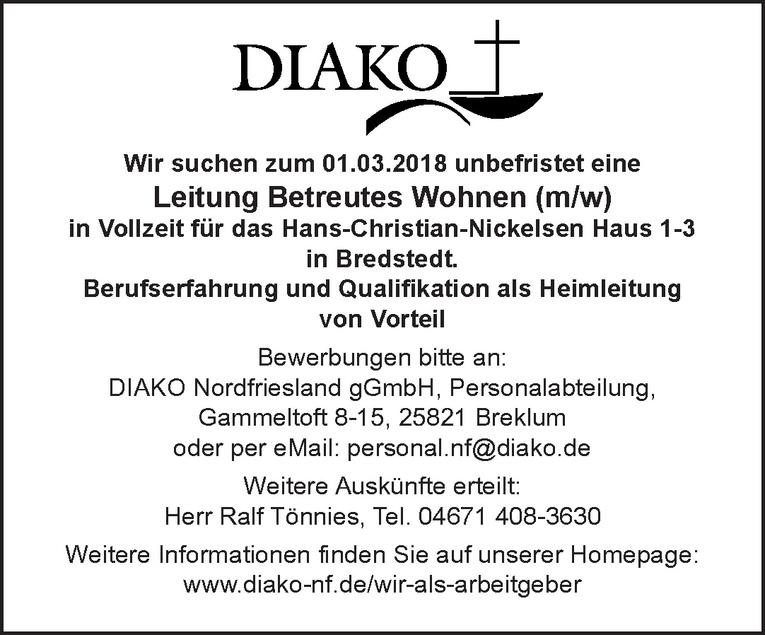 Leitung Betreutes Wohnen (m/w)