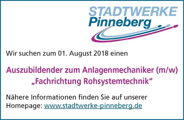 """Auszubildender zum Anlagenmechaniker (m/w) """"Fachrichtung Rohsystemtechnik"""""""