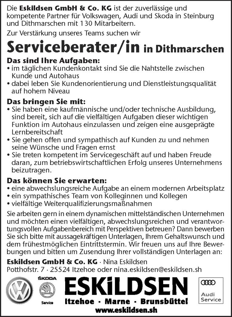 Serviceberater/in in