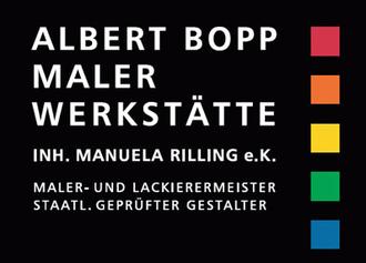 Albert Bopp Malerwerkstätte
