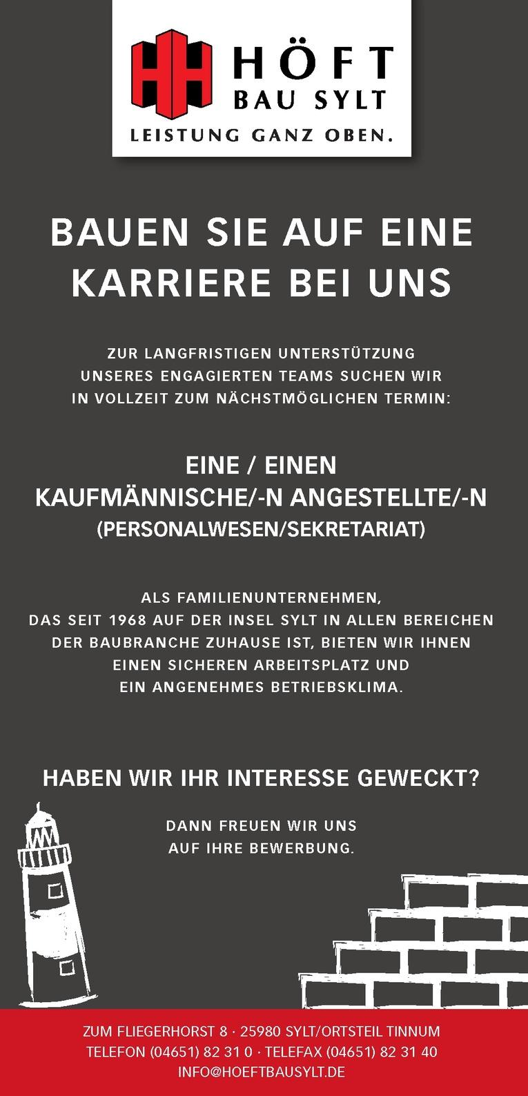KAUFMÄNNISCHE/-N ANGESTELLTE/-N