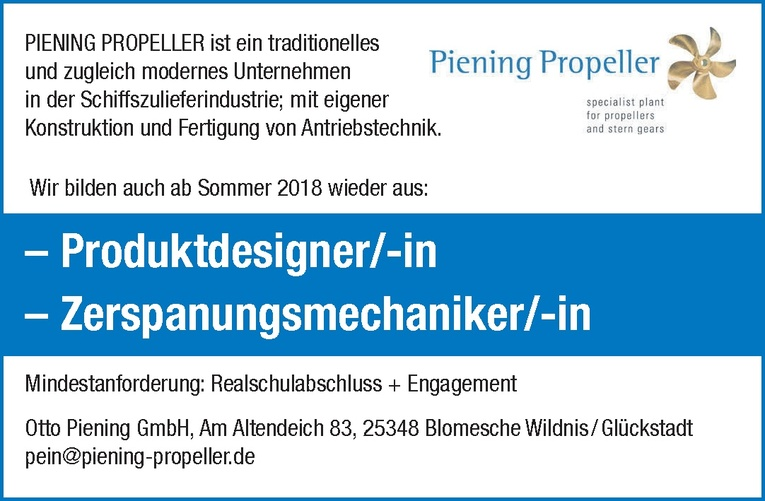 Ausbildung: Produktdesigner/-in