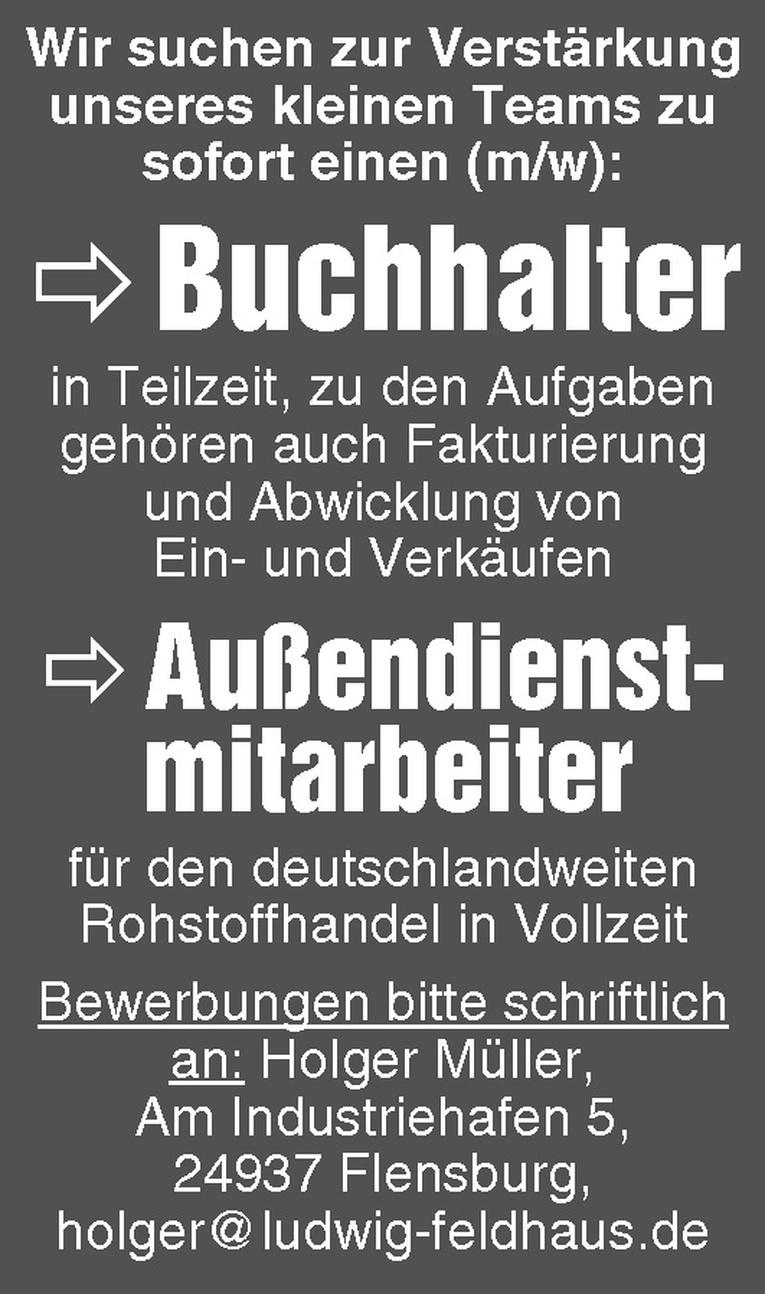 Buchhalter (m/w)