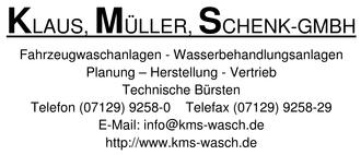 KMS  Klaus, Müller, Schenk-GmbH