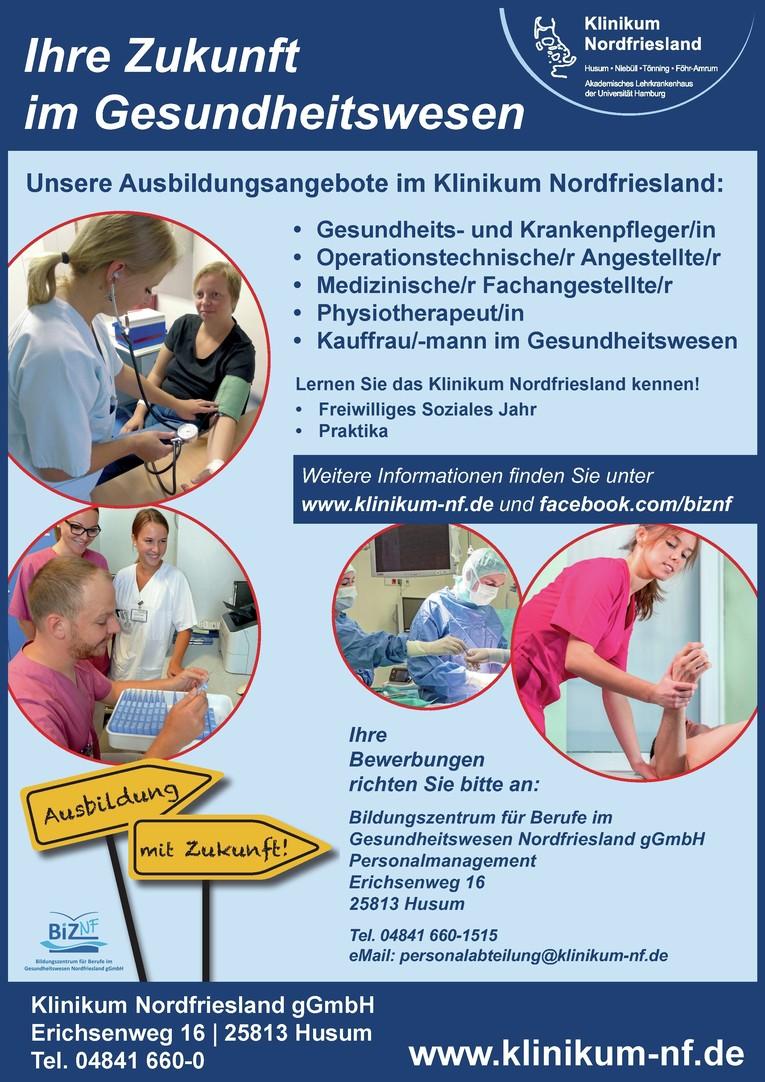 Ausbildung Kauffrau/-mann im Gesundheitswesen