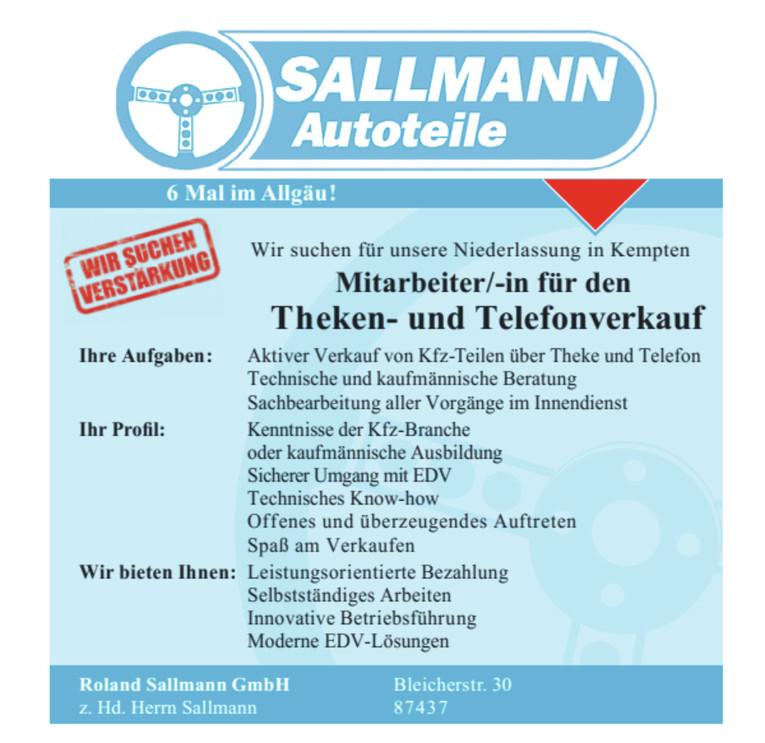 Mitarbeiter (m/w) für den Theken- und Telefonverkauf, Handel, Verkauf, Kaufmann, Kauffrau