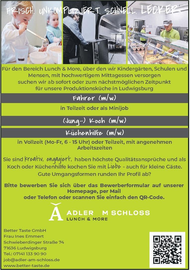 Nett Küchenhilfe Handwerker Zeitgenössisch - Küchen Design Ideen ...