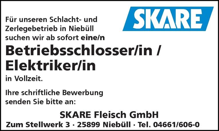 Betriebsschlosser/in / Elektriker/in