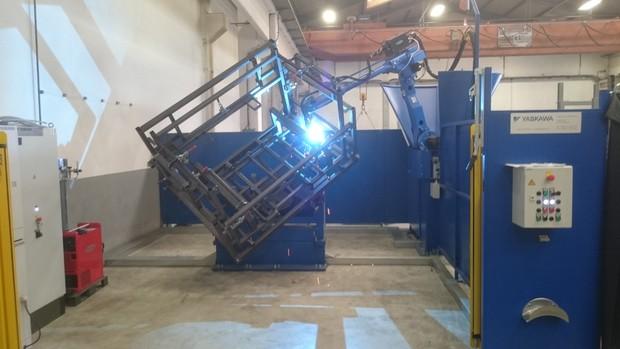 Automatisierte Fertigung in unserem Werk in Slowenien