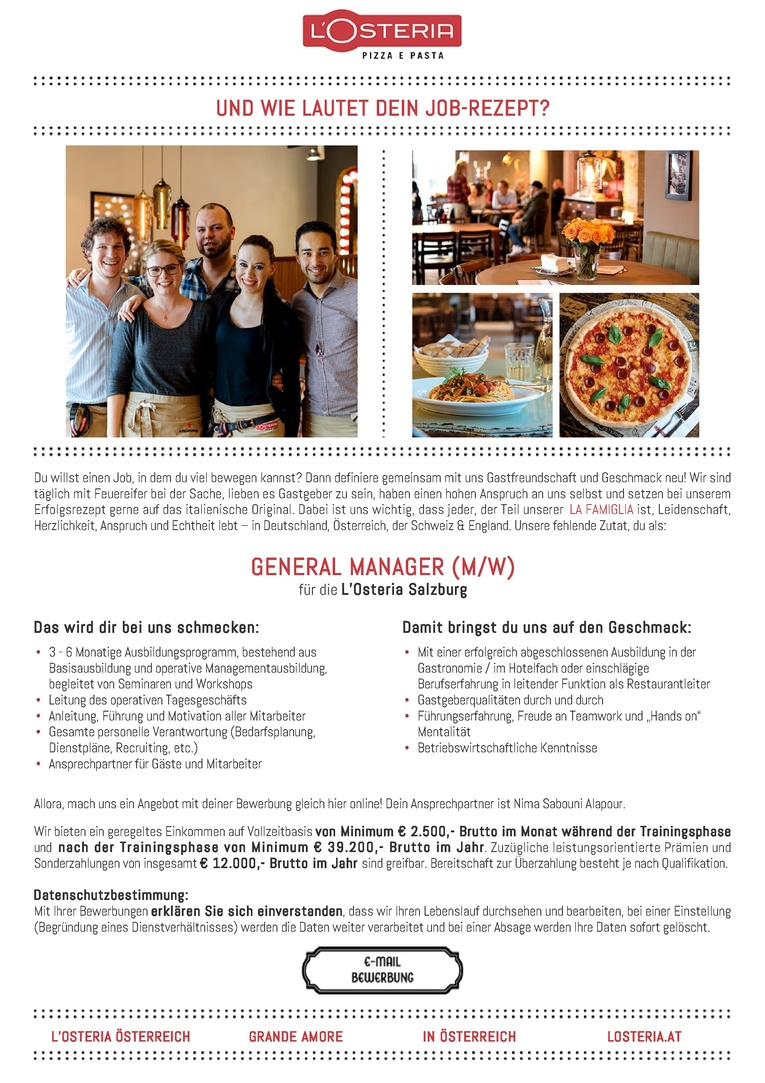 General Manager (m/w)