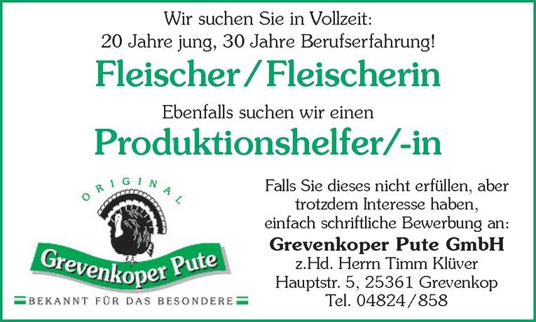 Fleischer / Fleischerin