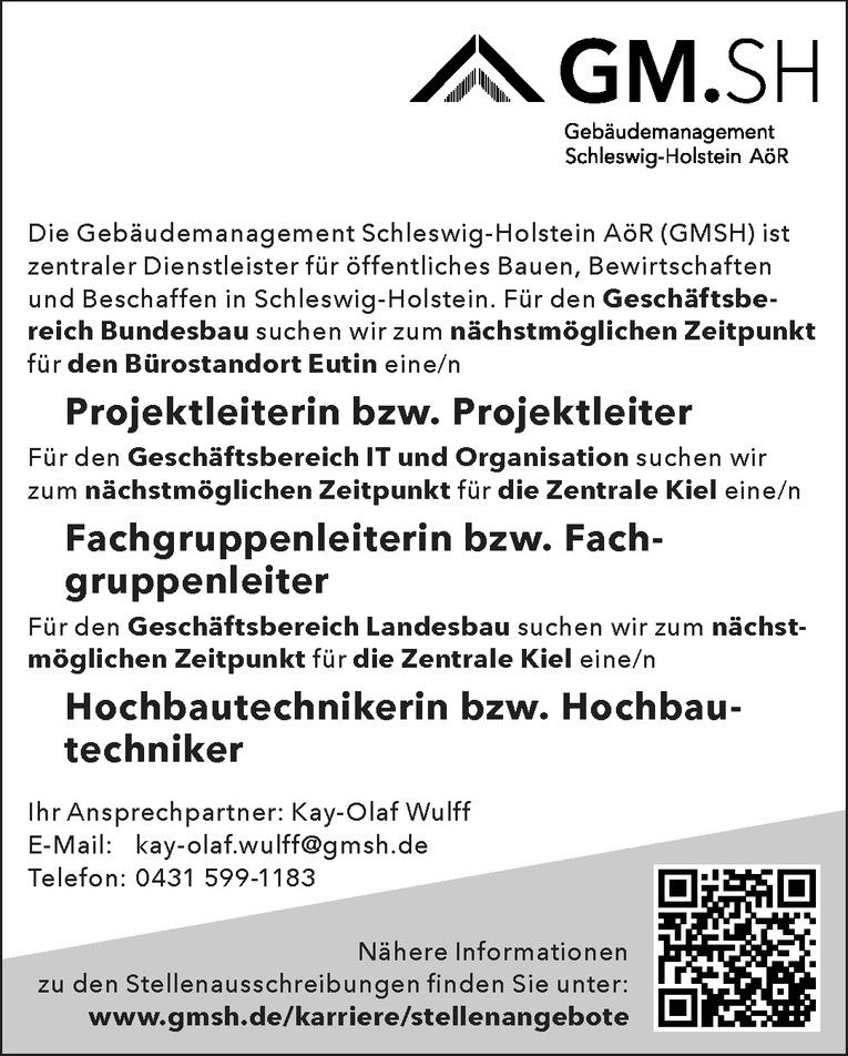 Hochbautechnikerin bzw. Hochbautechniker