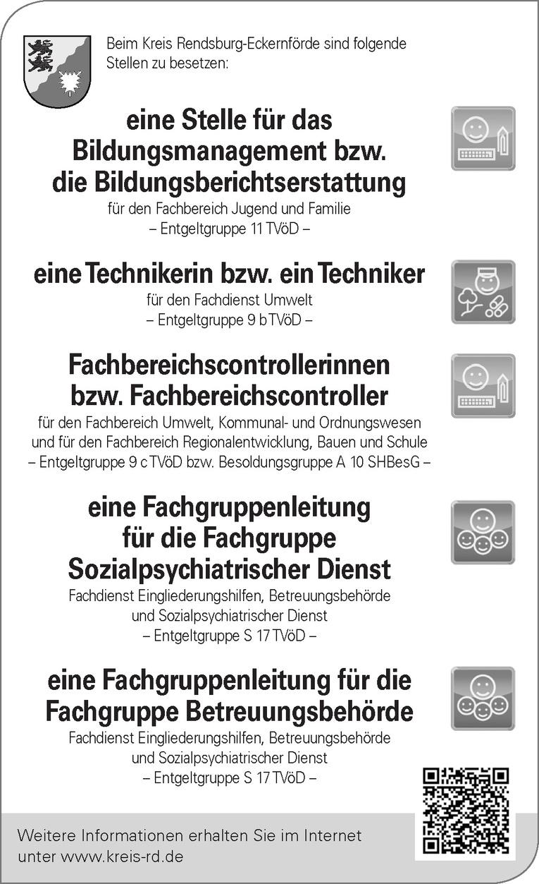 Fachbereichscontrollerinnen / Fachbereichscontroller