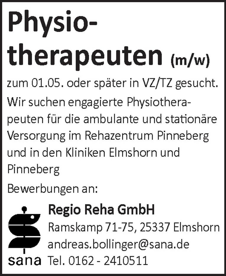 Physiotherapeuten (m/w)