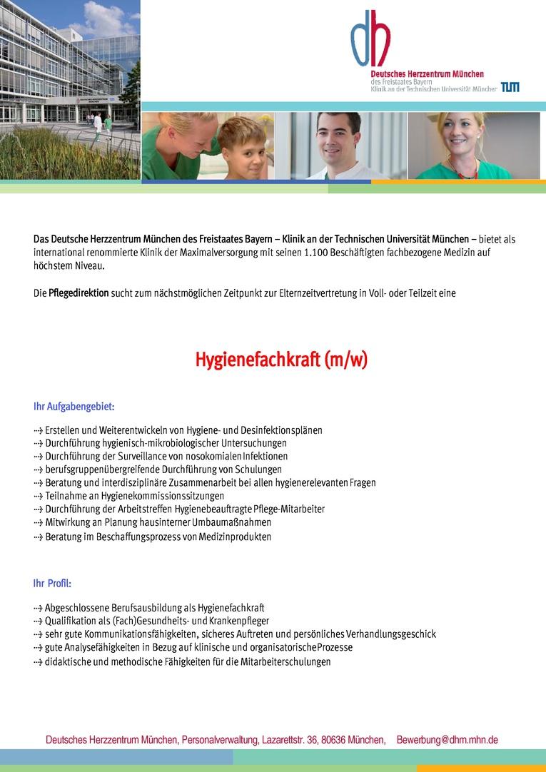 Hygienefachkraft (m/w)