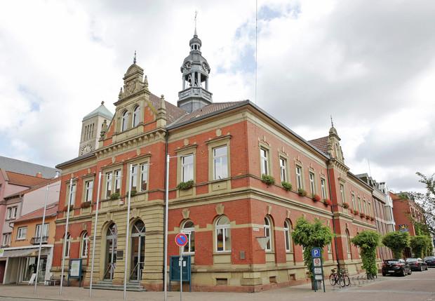 Rathausgebäude Stadtverwaltung Hockenheim