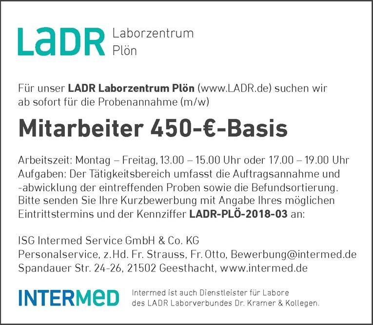 Mitarbeiter 450-€-Basis