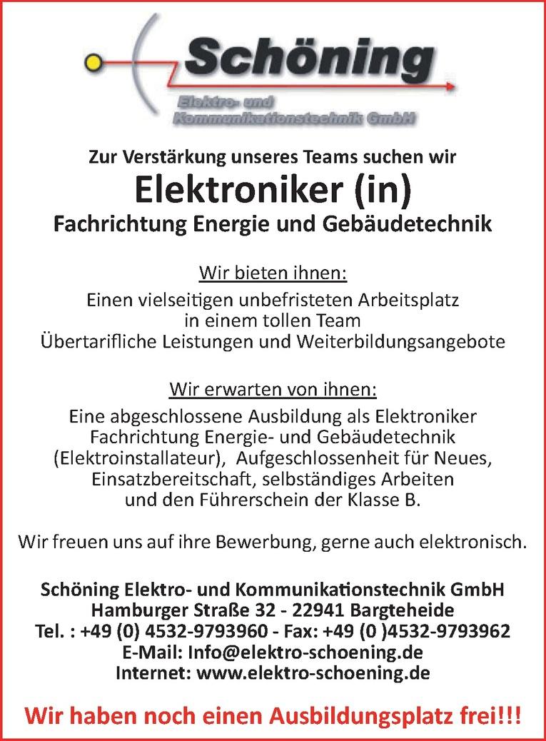 Elektroniker (m/w)