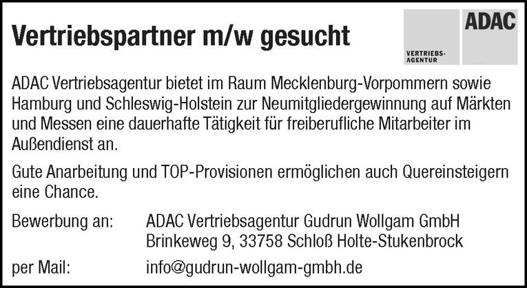 Vertriebspartner m/w