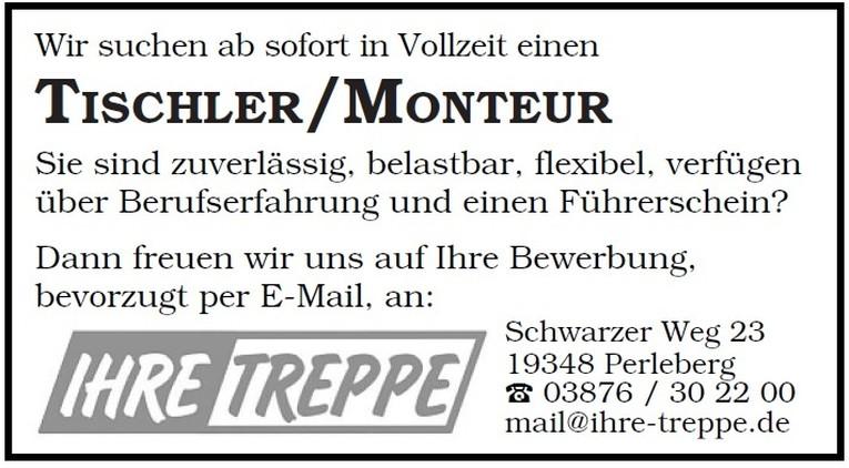 Tischler/MonTeur