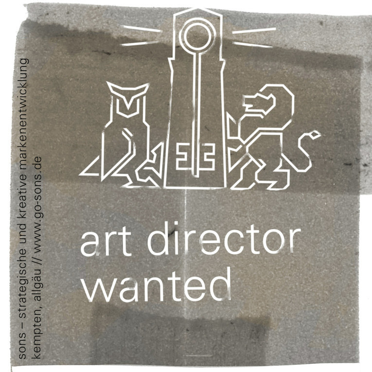 art director (m/w) wanted