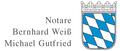Notare Bernhard Weiß und Michael Gutfried