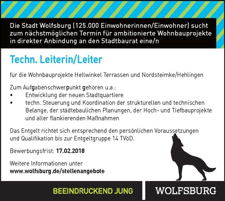 Techn. Leiterin/Leiter