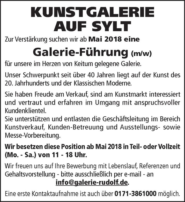 Galerie-Führung (m/w)