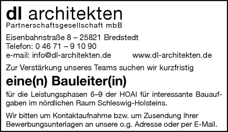 Bauleiter(in)