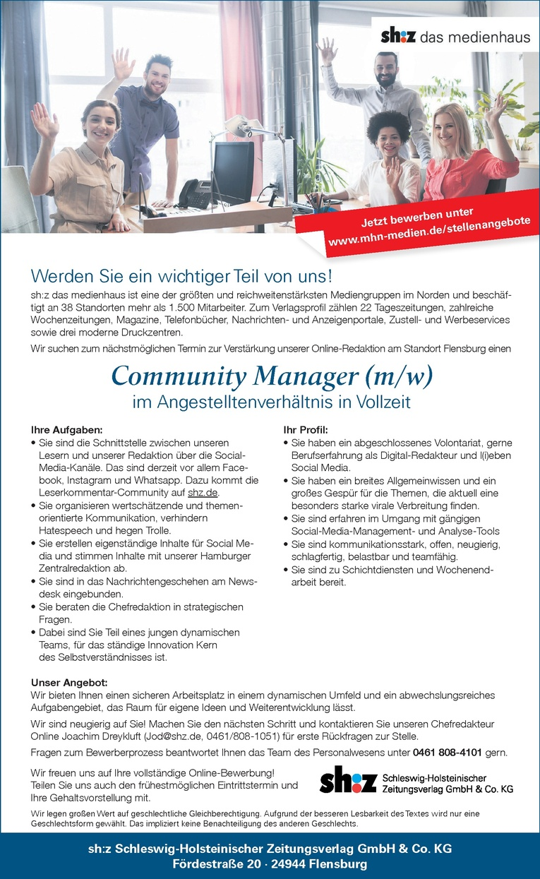 Community Manager (m/w)