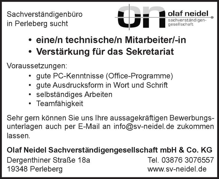 technische/n Mitarbeiter/-in