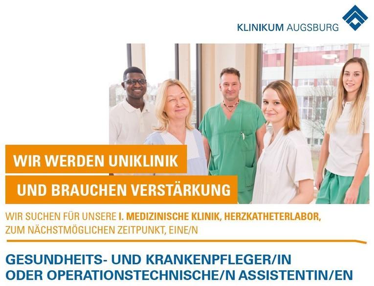 Gesundheits- und Krankenpfleger/in oder Operationstechnische/n Assistentin/en