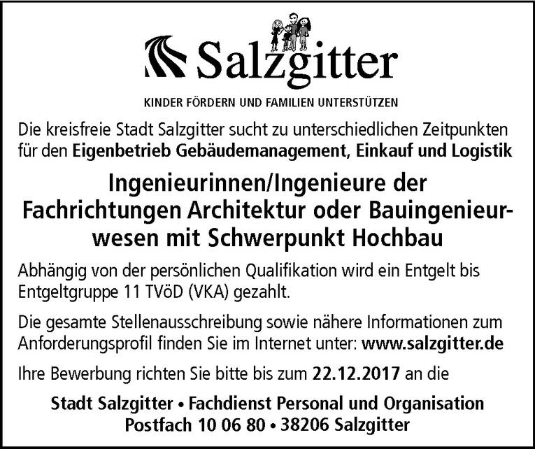 Ingenieur der Fachrichtungen Architektur / Bauingenieurwesen (m/w)