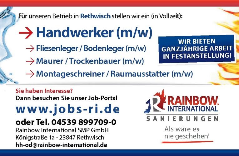 Fliesenleger / Bodenleger (m/w)