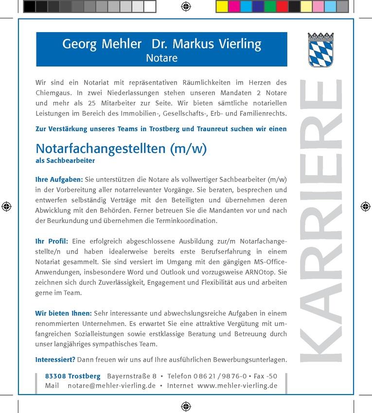 Notarfachangestellter (m/w)