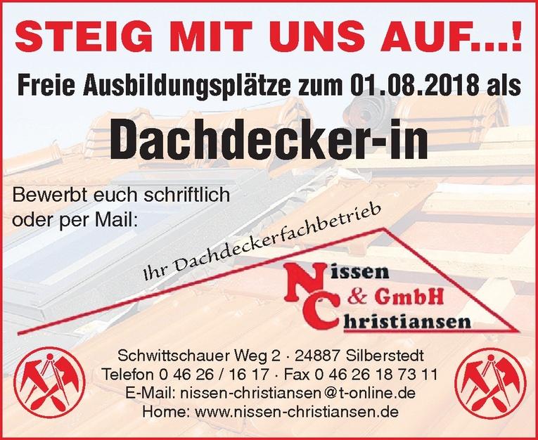 Ausbildung: Dachdecker (m/w)