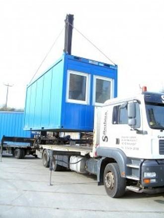 Silberhorn Container- und Krantransporte