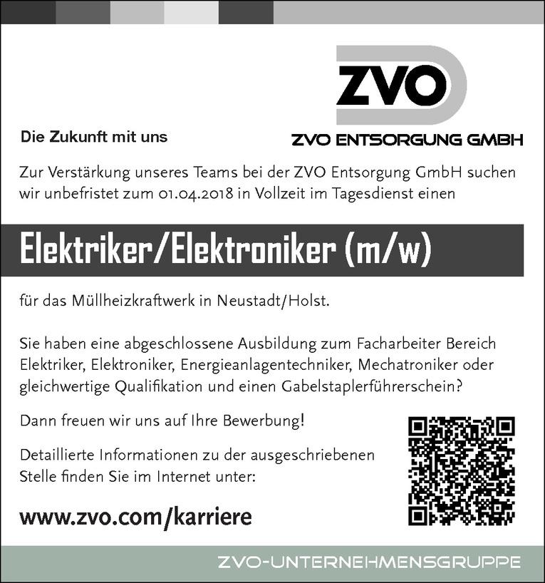 Elektriker/Elektroniker (m/w)