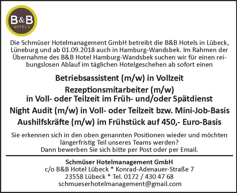 Job: Rezeptionsmitarbeiter (m/w)