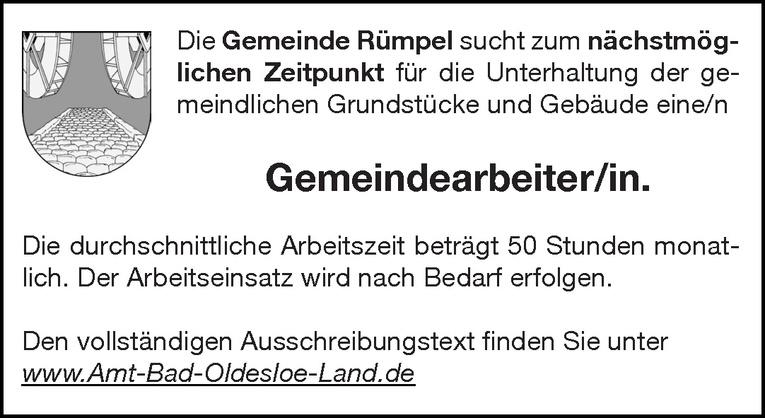 Gemeindearbeiter/in