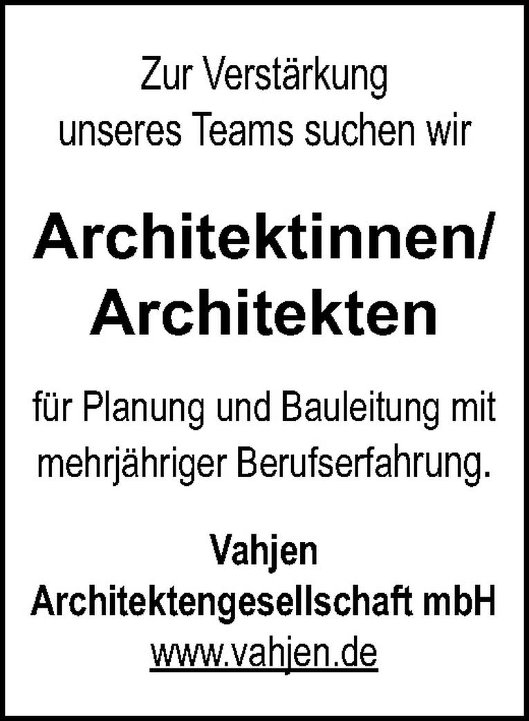 Architektinnen/Architekten
